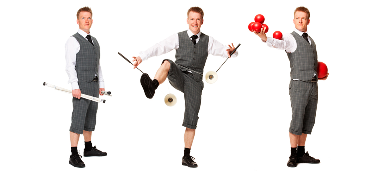 Juggling and mime show 2